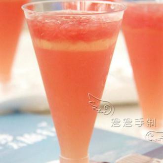 葡萄柚柠檬薄荷果冻