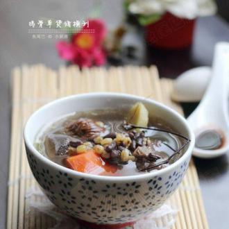 鸡骨草煲汤