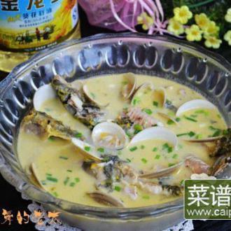 文蛤昂刺鱼汤