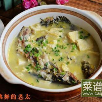 昂刺鱼炖冻豆腐