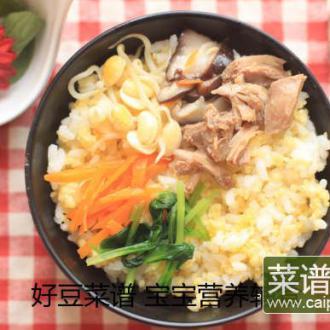 石锅拌饭(宝宝版)