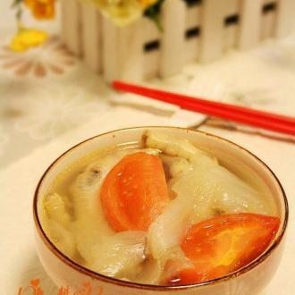 番茄洋葱凤爪汤