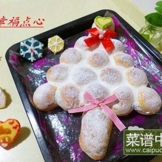 圣诞树面包