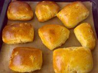 牛奶杏干面包的做法步骤14