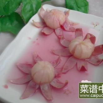 柠檬渍樱桃小萝卜