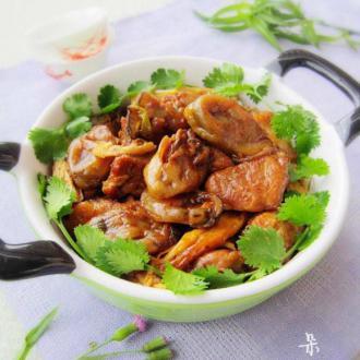 蚝豉焖猪肉