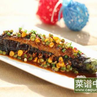 鱼香扒全茄
