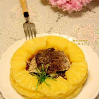 菠萝炒鱼皮