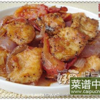 鲜茄烩鱼片