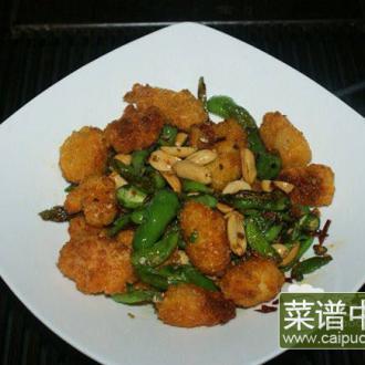 辣椒炒鸡米花