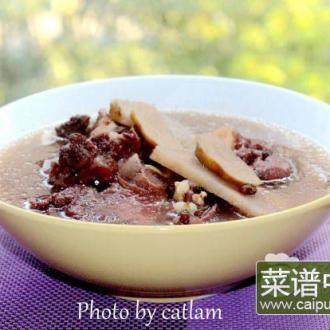 蚝豉粉葛猪骨汤