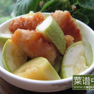 西葫芦香酥鸡