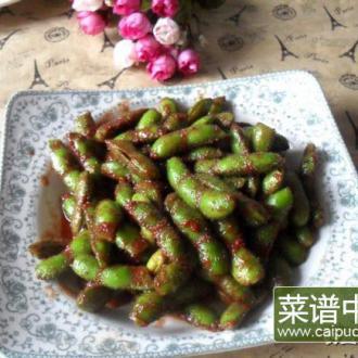 南乳毛豆——清凉一夏