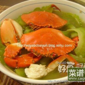水蟹苦瓜汤