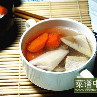 莲藕瘦肉汤