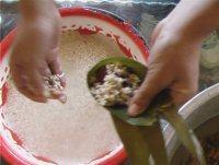 高粱米红枣粽子的做法步骤13