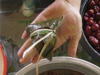高粱米红枣粽子的做法步骤19