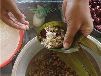 高粱米红枣粽子的做法步骤14