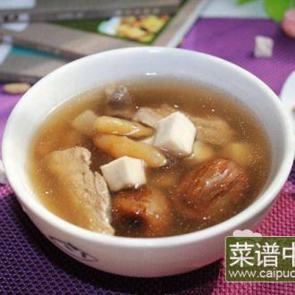 麦冬云苓瘦肉汤