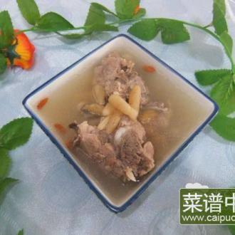 麦冬沙参猪骨汤