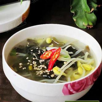 在家做韩式鲜汤----韩
