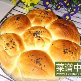 莲花黑芝麻面包