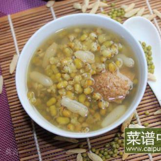 麦冬绿豆汤