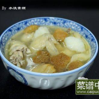 猴菇老鸡汤