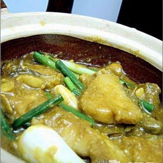 咖喱啫鱼煲