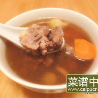 淮山节瓜排骨汤