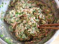 荠菜猪肉汤圆的做法步骤7