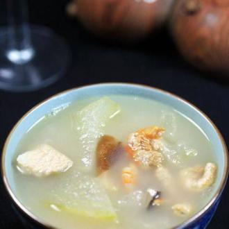 瑶柱虾米冬瓜汤