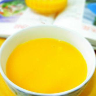 细腻金瓜粥