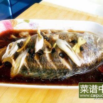 清蒸豆豉罗非鱼