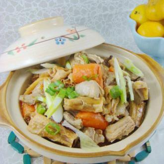 腐竹羊腩煲
