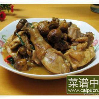 姬松茸烧土鸡