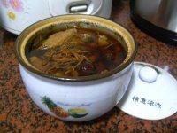 淮山虫草白鸽炖汤的做法步骤7