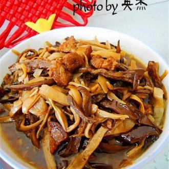 东北炖干菜