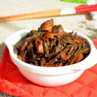干豆角炖肉