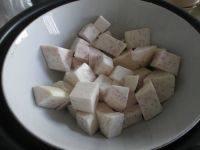 香芋蒸肉的做法步骤6