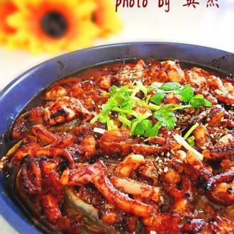 韩式辣烤鱿鱼
