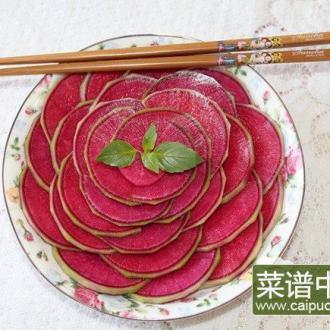 糖醋红心萝卜