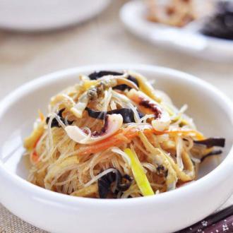 海鲜什锦炒粉