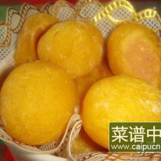 黄金红薯球