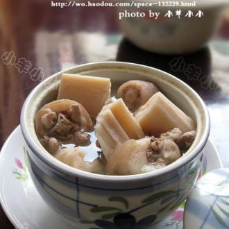 莲藕猪尾汤