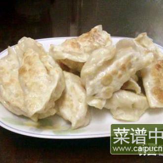 香菇沙葛生煎饺子
