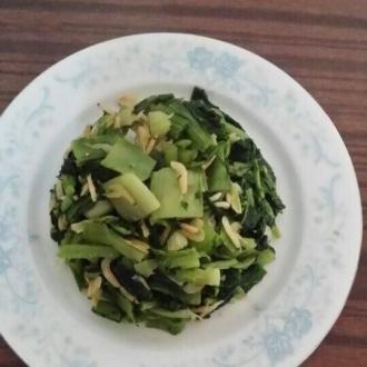 虾米皮小白菜