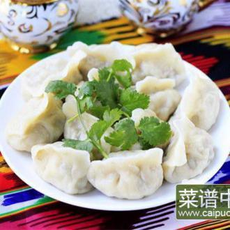 香菇羊肉饺子