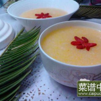 香糯玉米粥