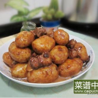 薯仔焖猪肉